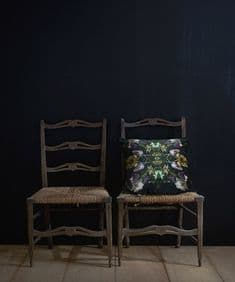 Floralism Graphic 50 x 50 velvet cushion